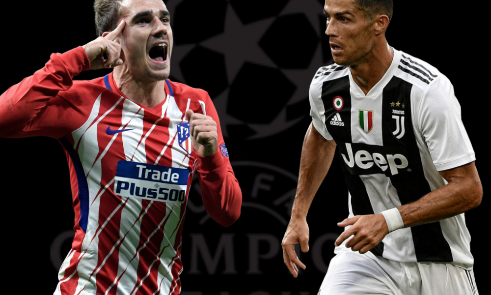Champions League - Atletico Madrid vs Juventus
