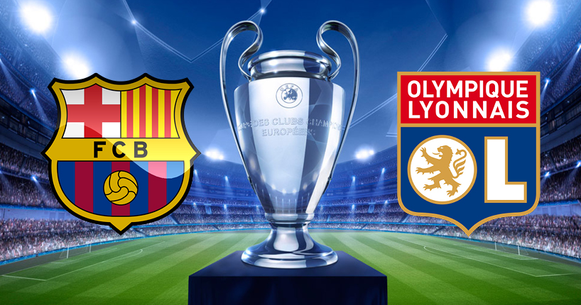 Champions League - FC Barcelona vs Olympique Lyon